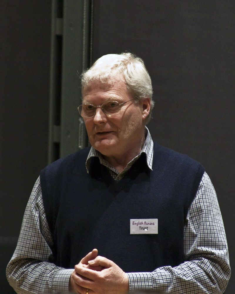 Glyn Purland, Chair of English Banana Trust