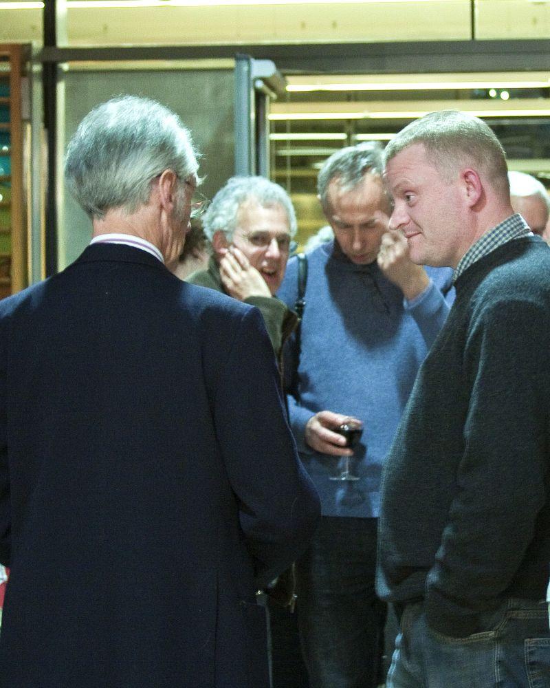 Alan Childs, Trustee of English Banana Trust, and Matt Purland
