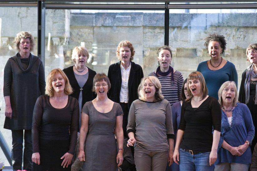 Big Sky Choir - Warming Up