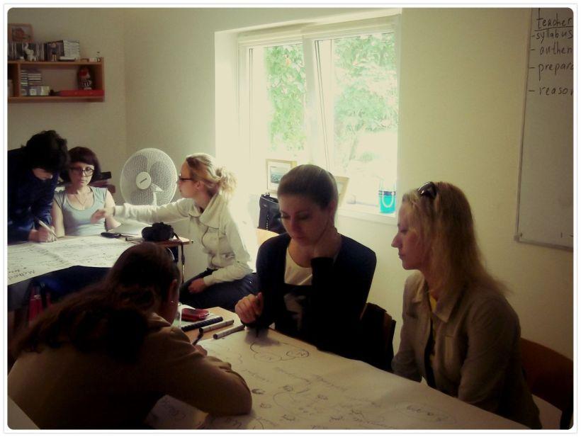 Teachers from Saratov University, Russia