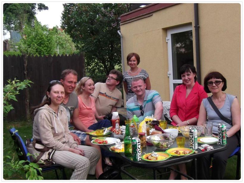 Polish hospitality - a good old fashioned grill!