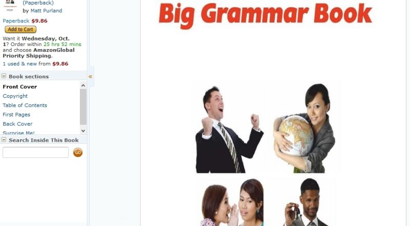 Big Grammar Book on Amazon.com