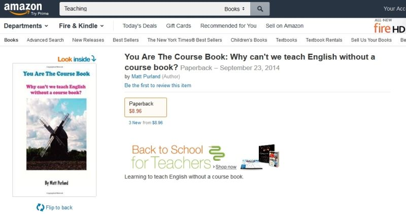 You Are The Course Book on Amazon.com